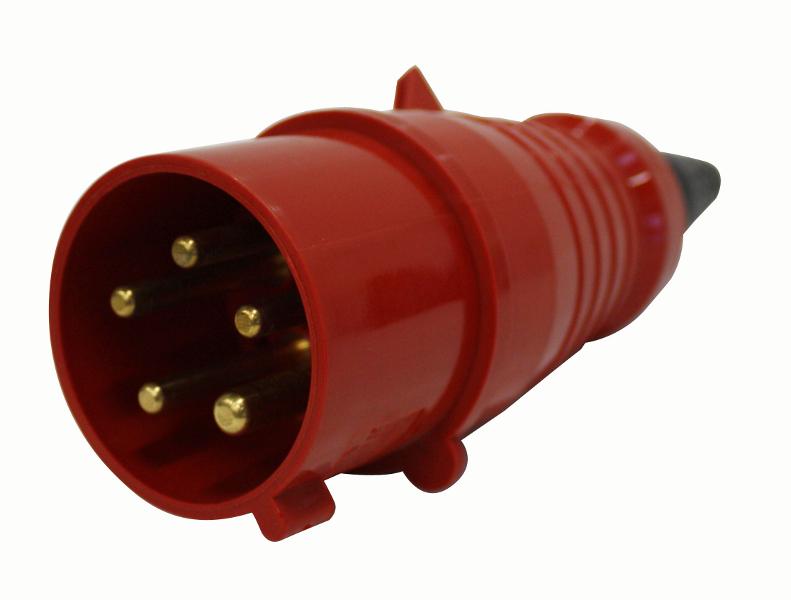 1 Stk CEE-Stecker 5x32A 400V IP44 YY492732--