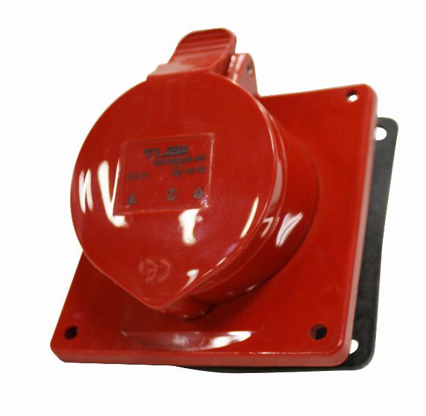 1 Stk CEE-Anbaudose 5x16A 400V IP44, Winkel 20° YY494516--