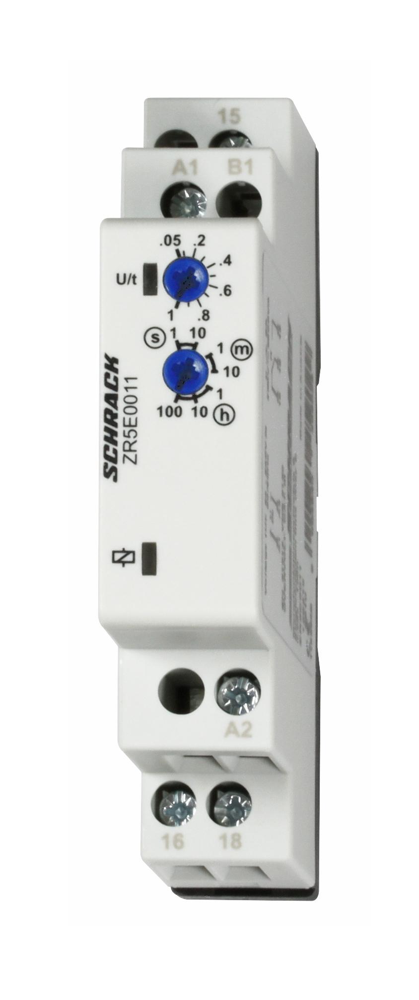 1 Stk Monofunktionsrelais esv., 24-240V AC/DC, 1 Wechsler, 8A/250V ZR5E0011--