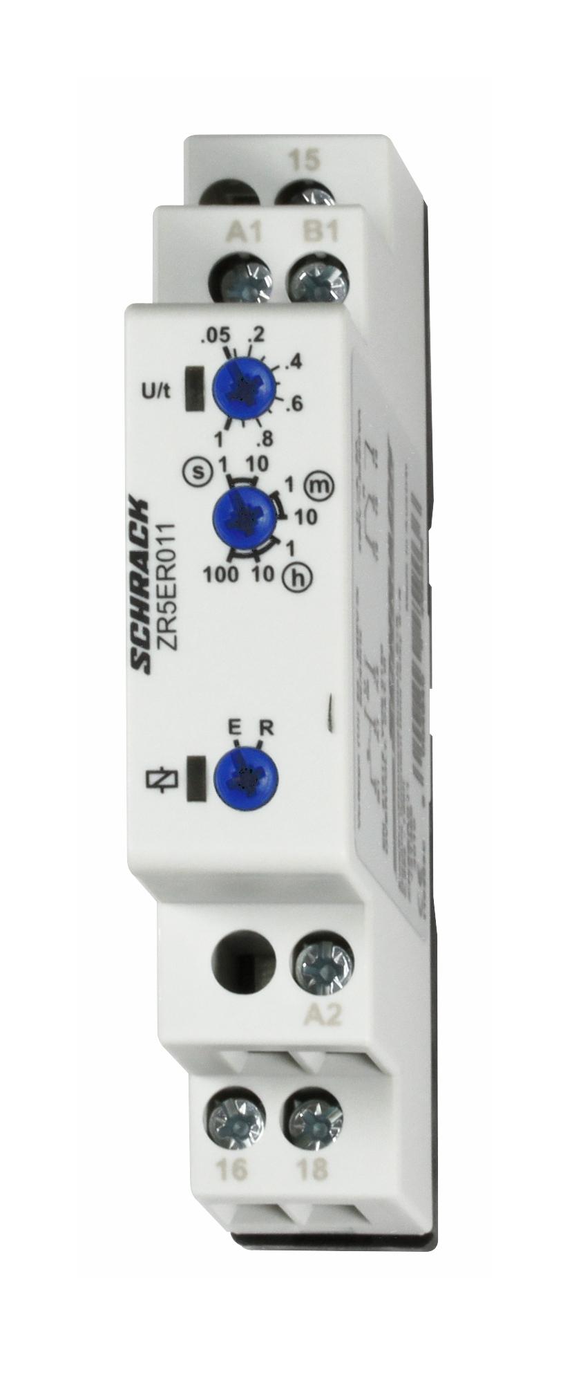 1 Stk Duofunktionsrelais esv./rfv.,24-240VAC/DC,1 Wechsler,8A/250V ZR5ER011--