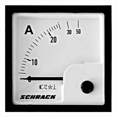 Ampermetar AC/25A,72x72,analogni,direktan,za ugrad.na vrata
