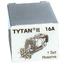 Wkładki bezpiecznikowe,komplet 3 szt.3x16A do Tytan II