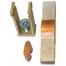 Łącznik elastyczny prosty do szyn o profilu 2T (3szt.)