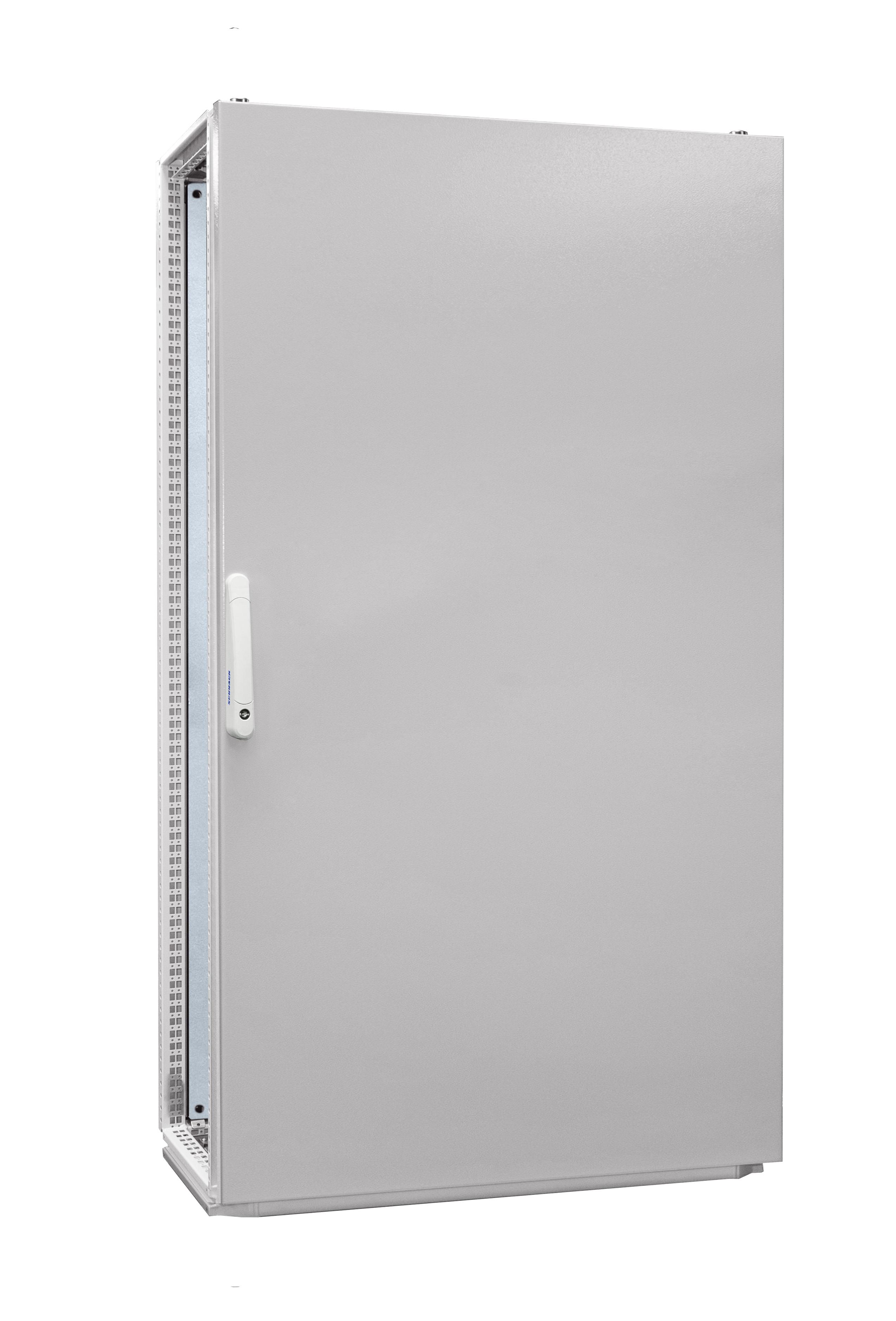 1 Stk Anreihschrank 1-Tür IP55 H=1800 B=1000 T=400mm Stahlblech AC181040--