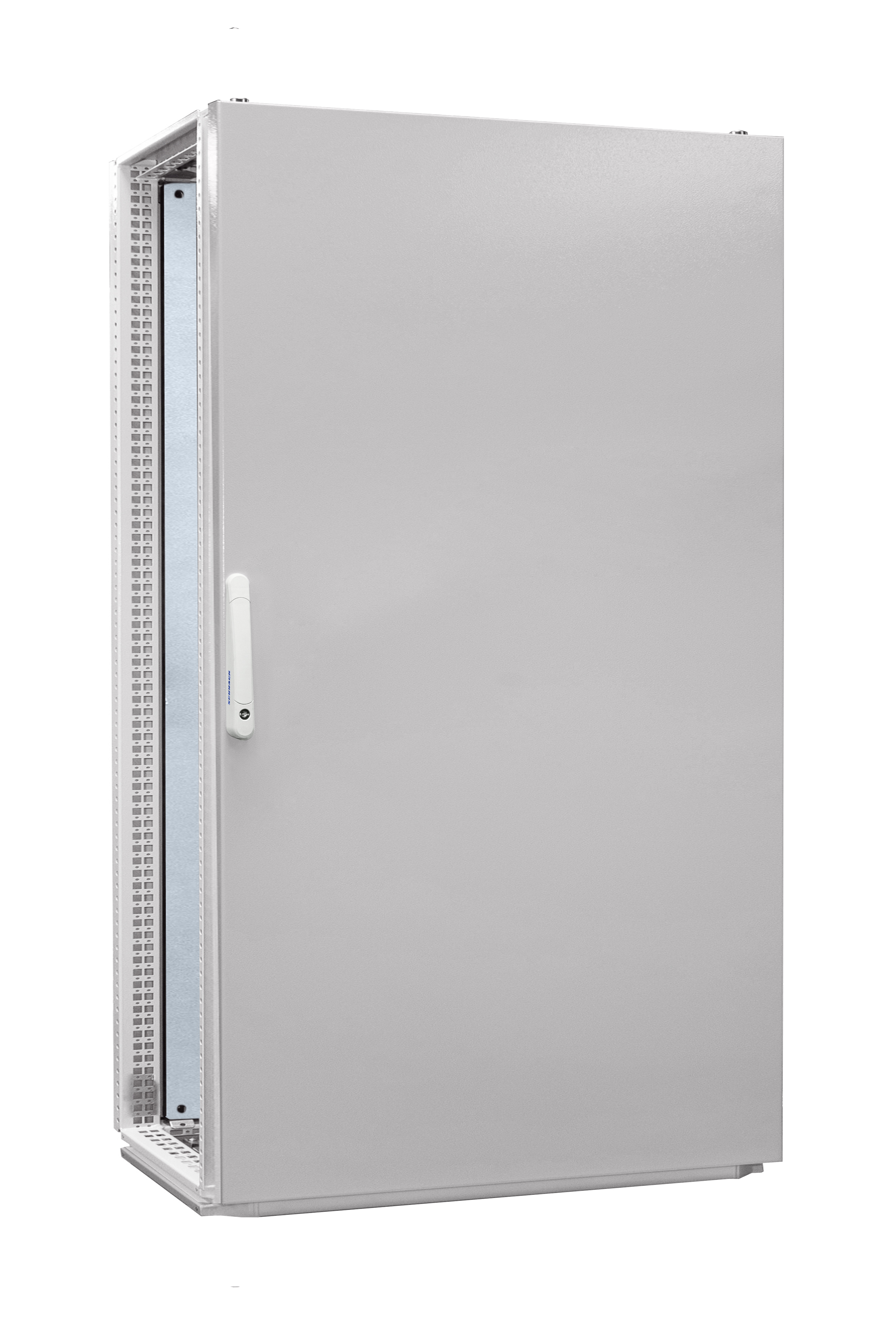 1 Stk Anreihschrank 1-Tür IP55 H=1800 B=1000 T=600mm Stahlblech AC181060--