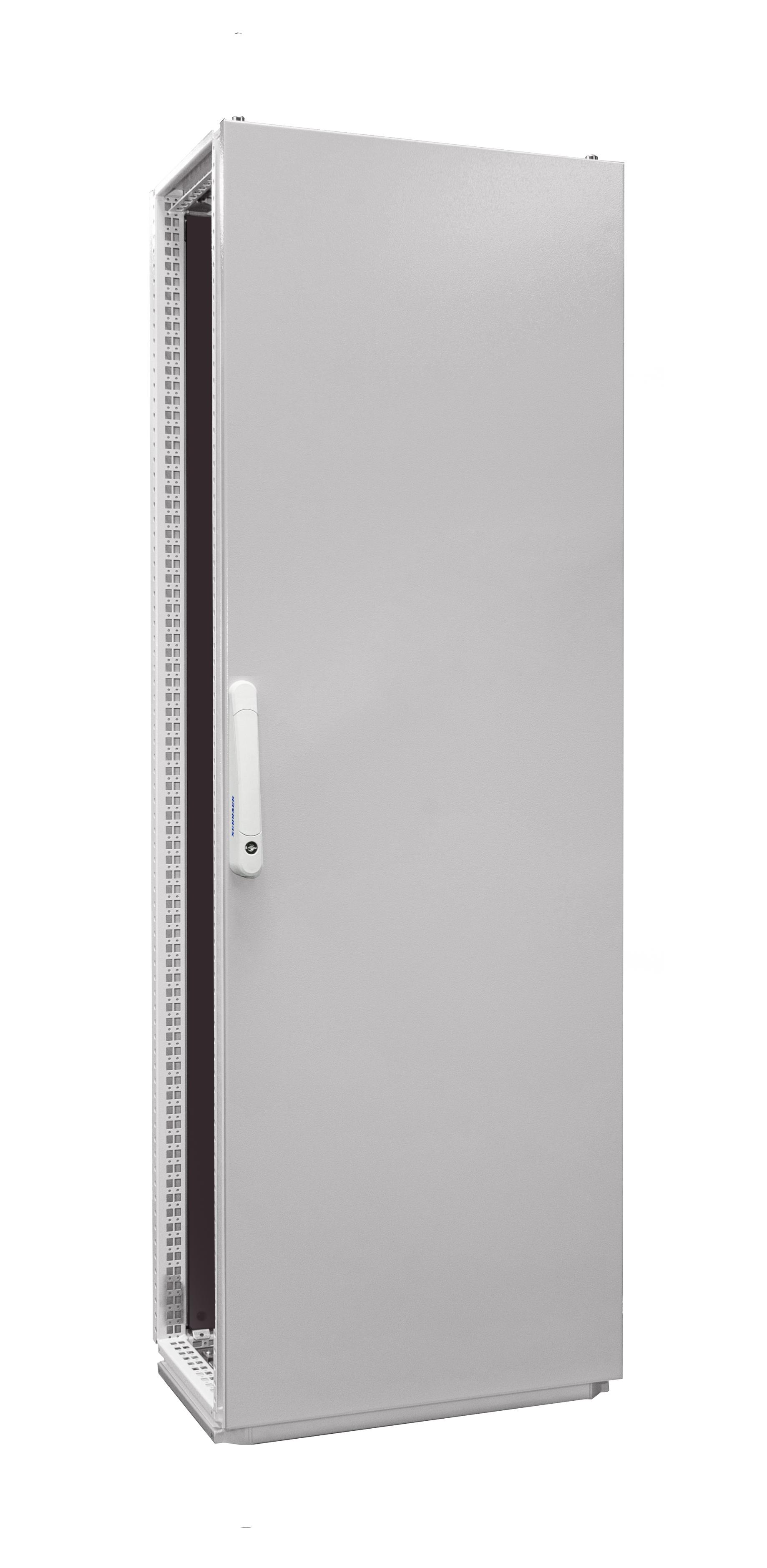 1 Stk Anreihschrank 1-Tür IP55 H=1800 B=600 T=400mm Stahlblech AC186041--