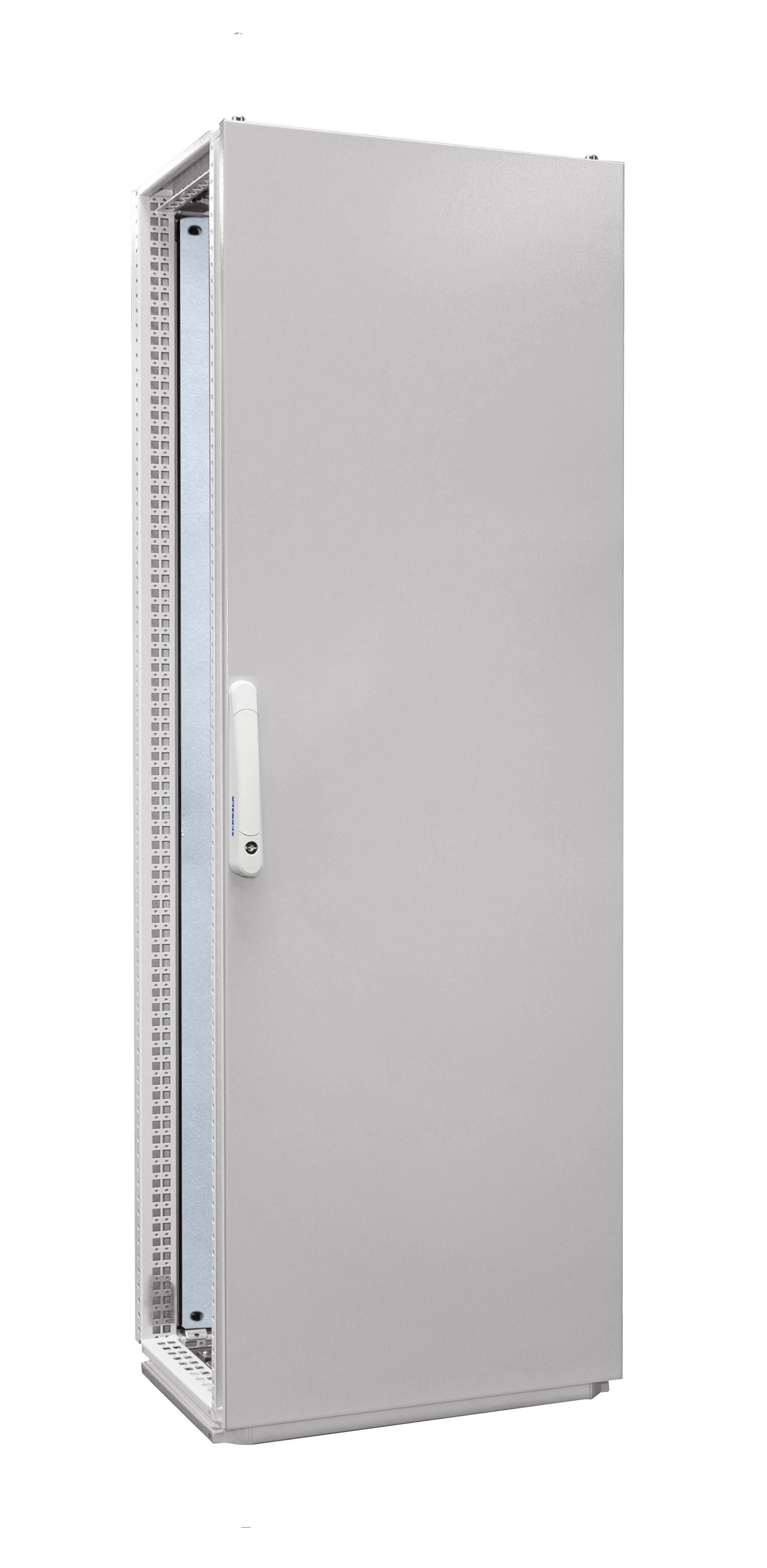 1 Stk Anreihschrank 1-Tür IP55 H=1800 B=600 T=500mm Stahlblech AC186050--