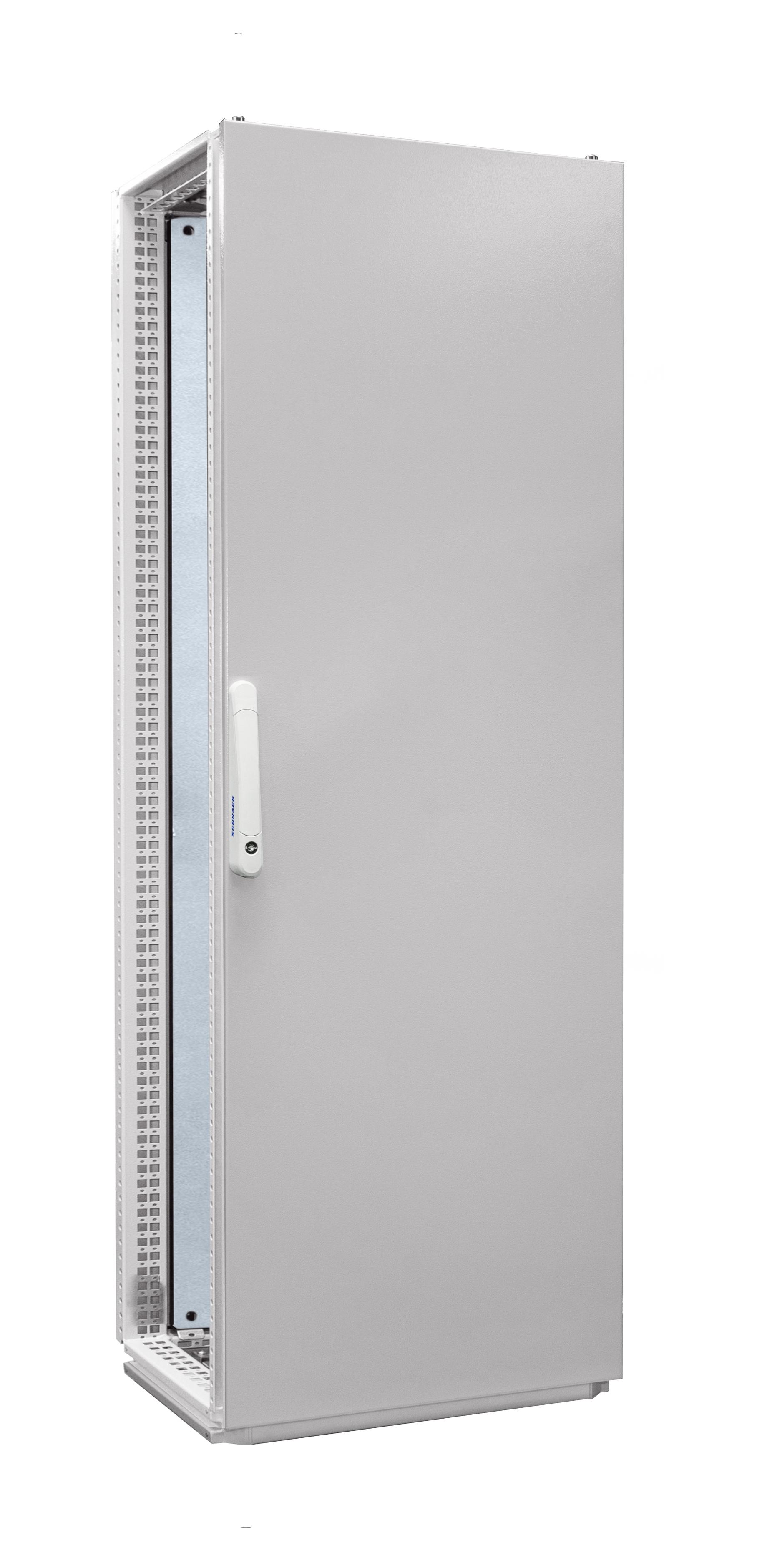 1 Stk Anreihschrank 1-Tür IP55 H=1800 B=600 T=600mm Stahlblech AC186060--