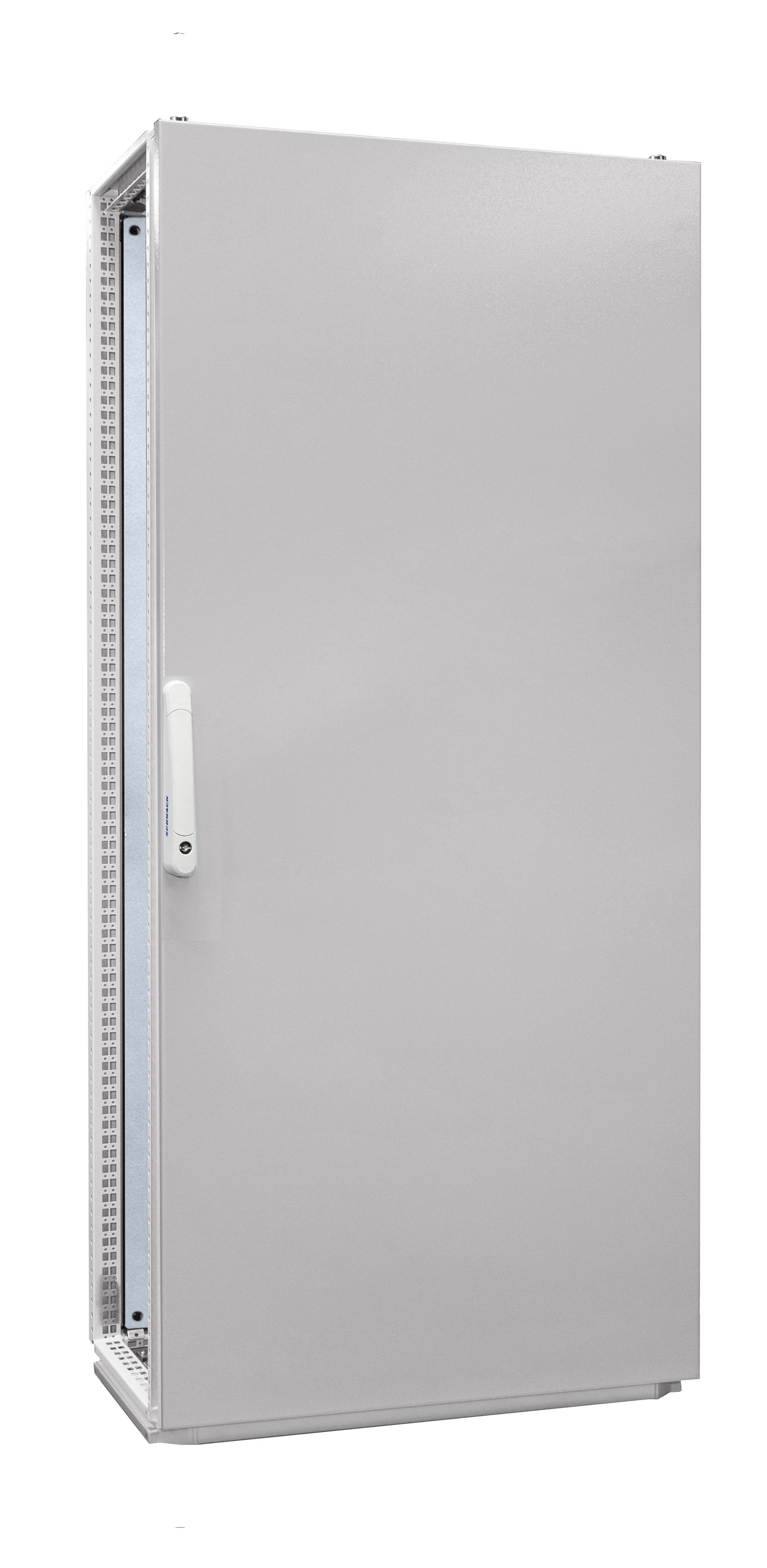 1 Stk Anreihschrank 1-Tür IP55 H=1800 B=800 T=400mm Stahlblech AC188040--