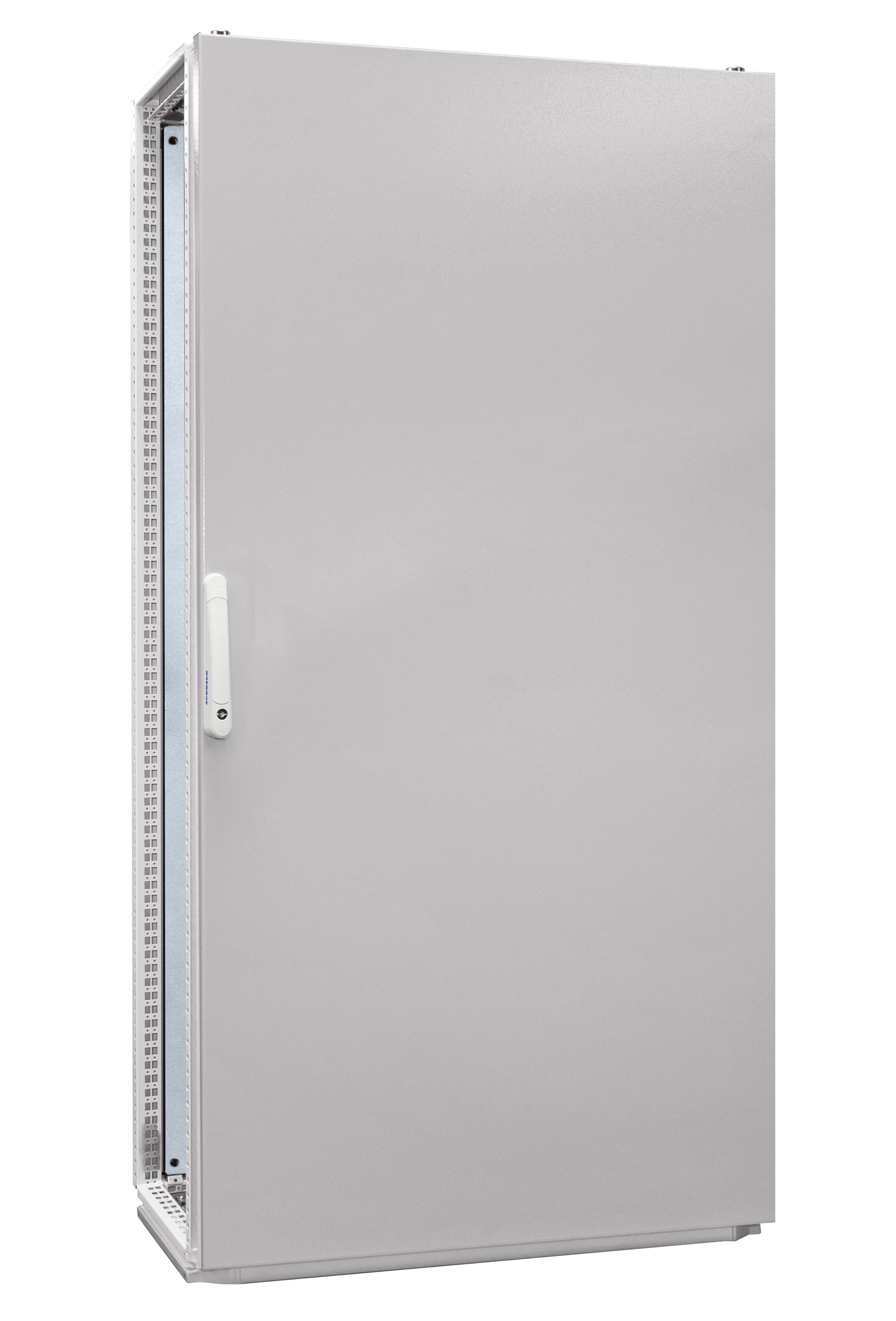 1 Stk Anreihschrank 1-Tür IP55 H=2000 B=1000 T=400mm Stahlblech AC201040--