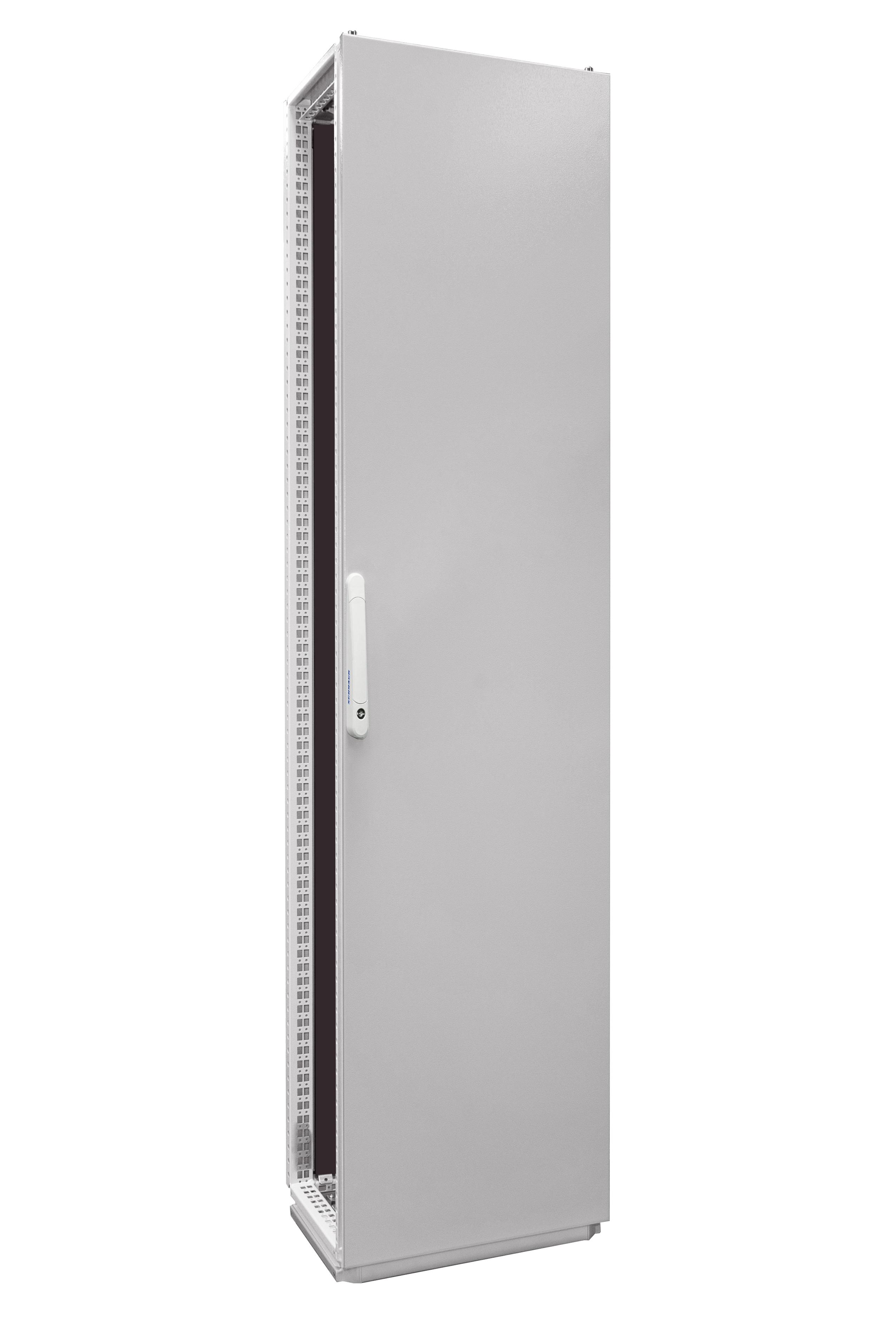 1 Stk Anreihschrank 1-Tür IP55 H=2000 B=400 T=400mm Stahlblech AC204041--