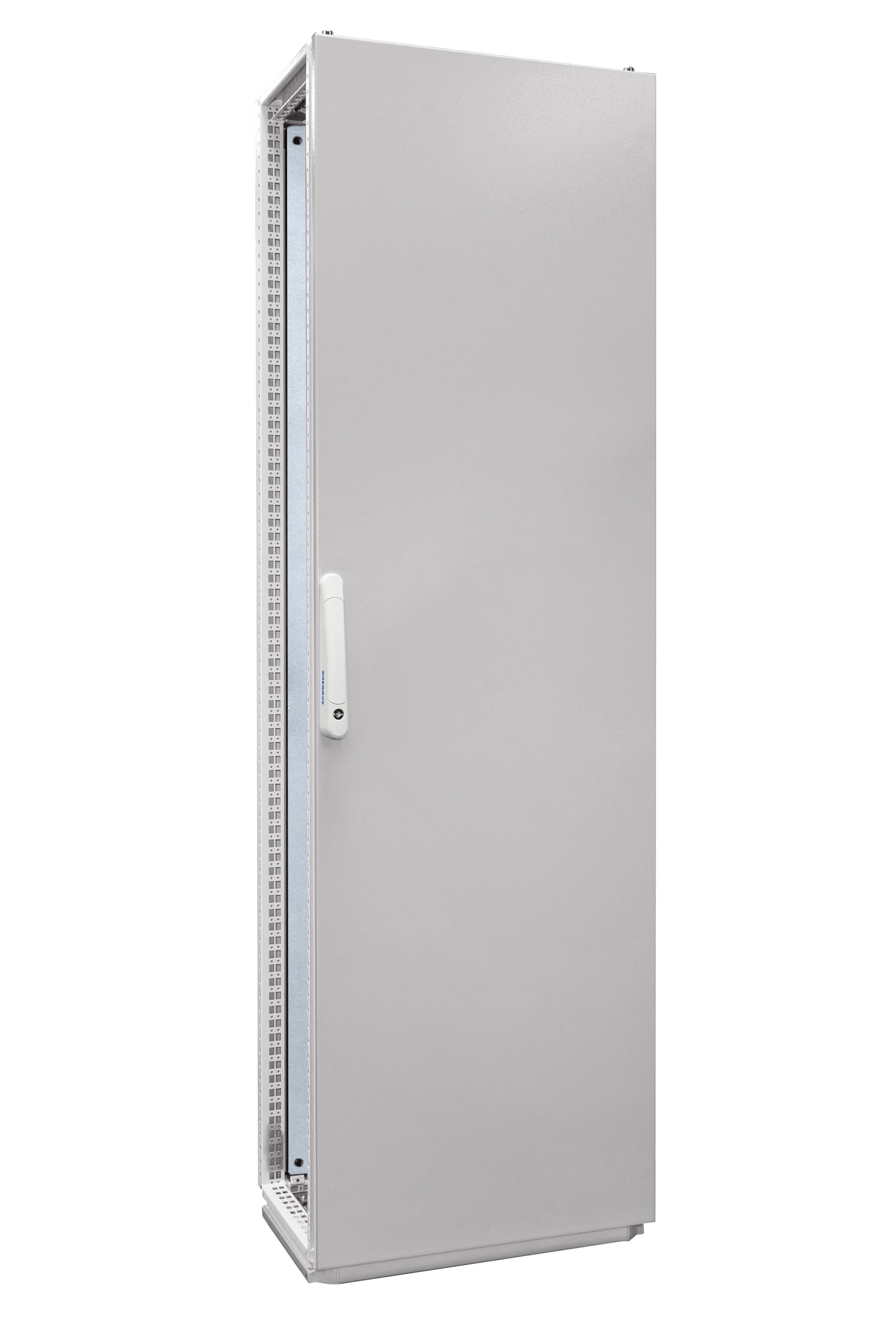 1 Stk Anreihschrank 1-Tür IP55 H=2000 B=600 T=400mm Stahlblech AC206040--