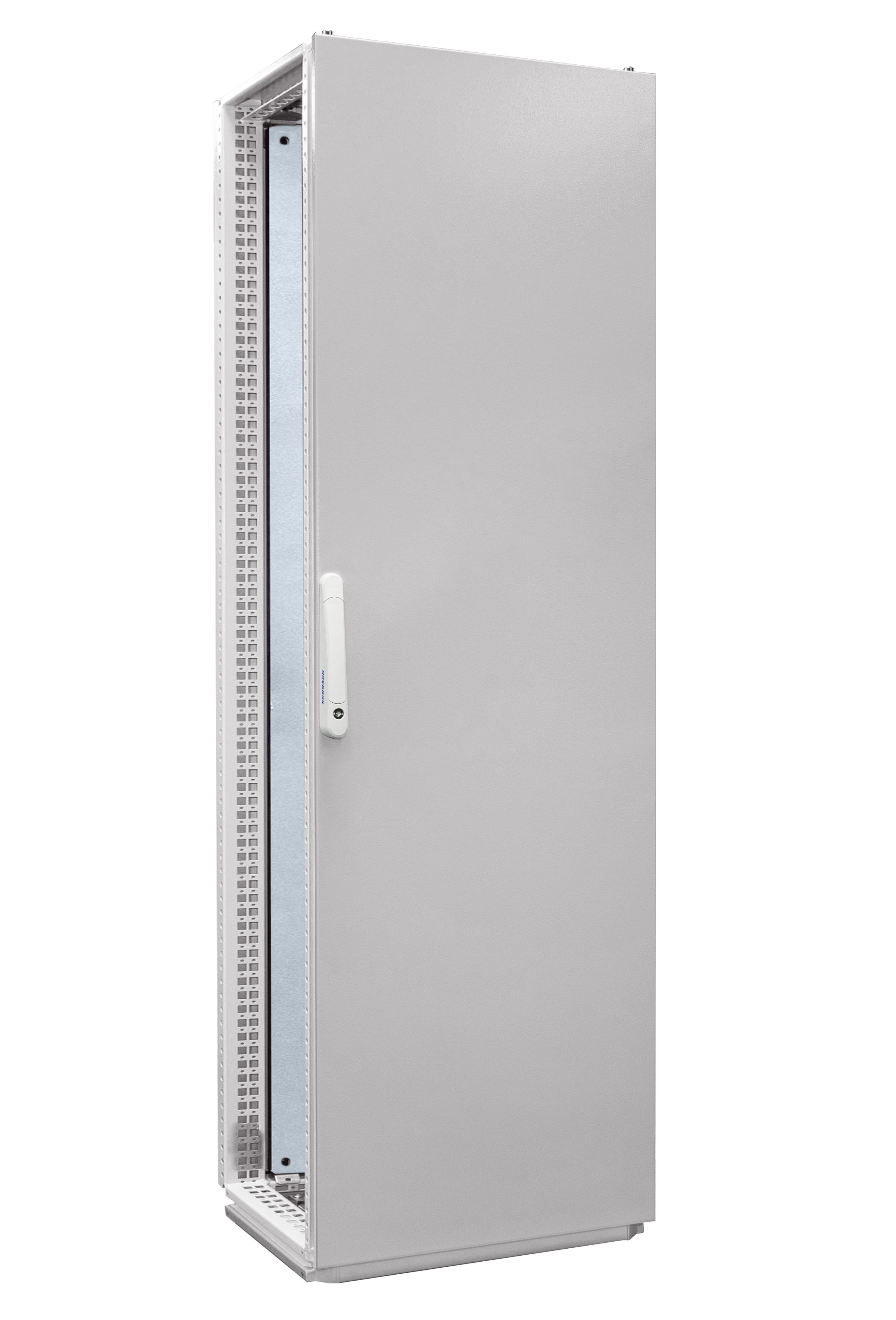 1 Stk Anreihschrank 1-Tür IP55 H=2000 B=600 T=600mm Stahlblech AC206060--