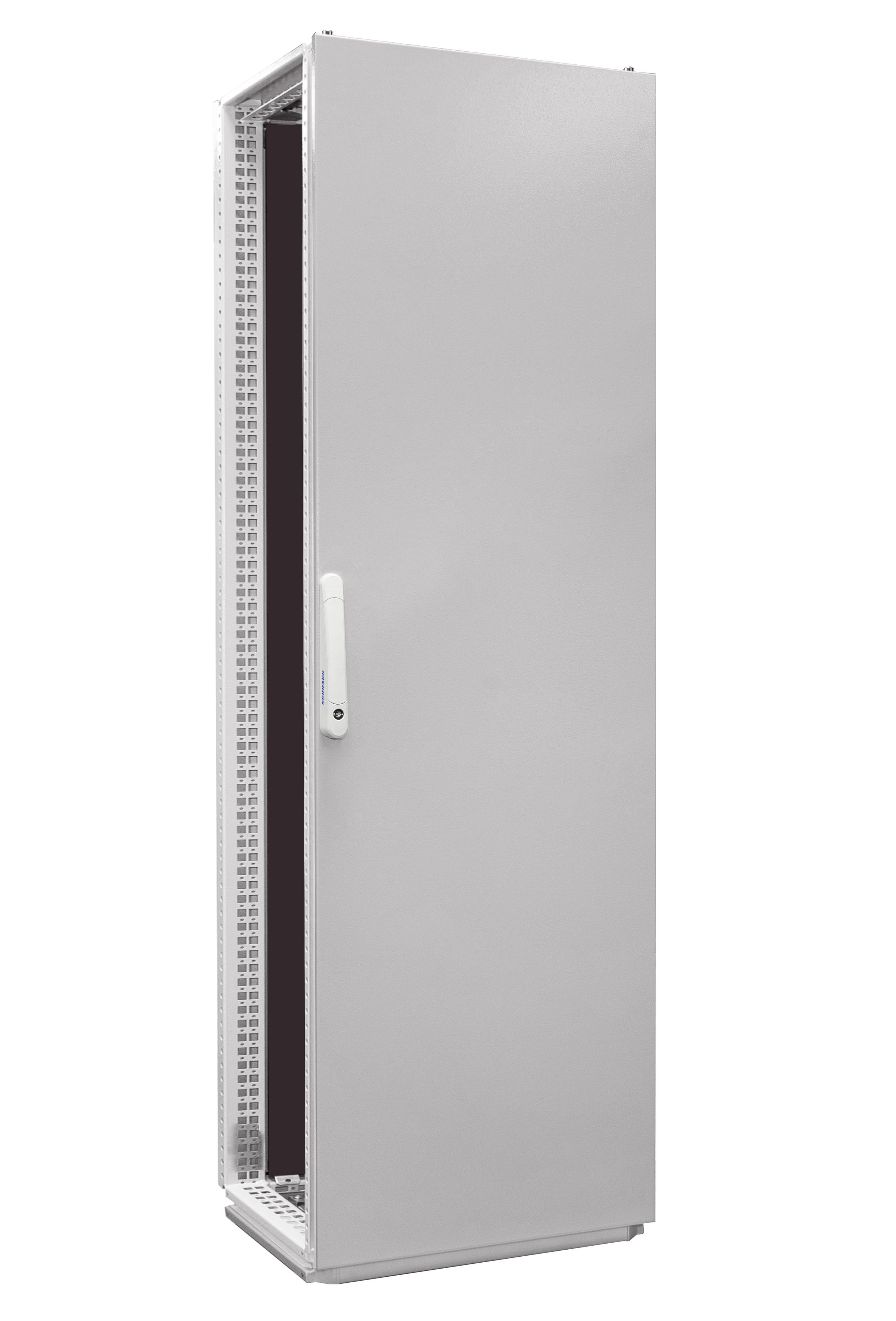 1 Stk Anreihschrank 1-Tür IP55 H=2000 B=600 T=600mm Stahlblech AC206061--