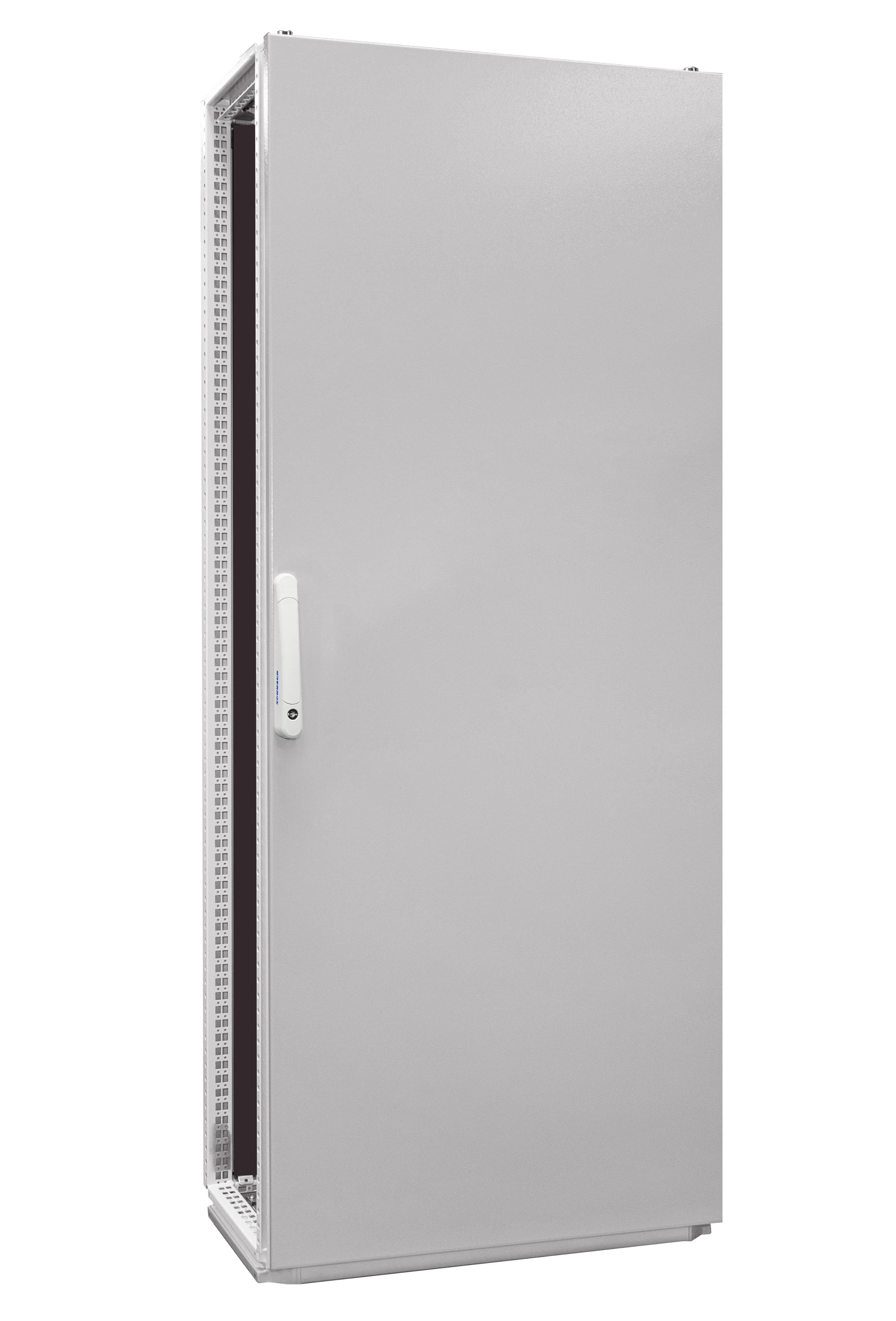 1 Stk Anreihschrank 1-Tür IP55 H=2000 B=800 T=400mm Stahlblech AC208041--