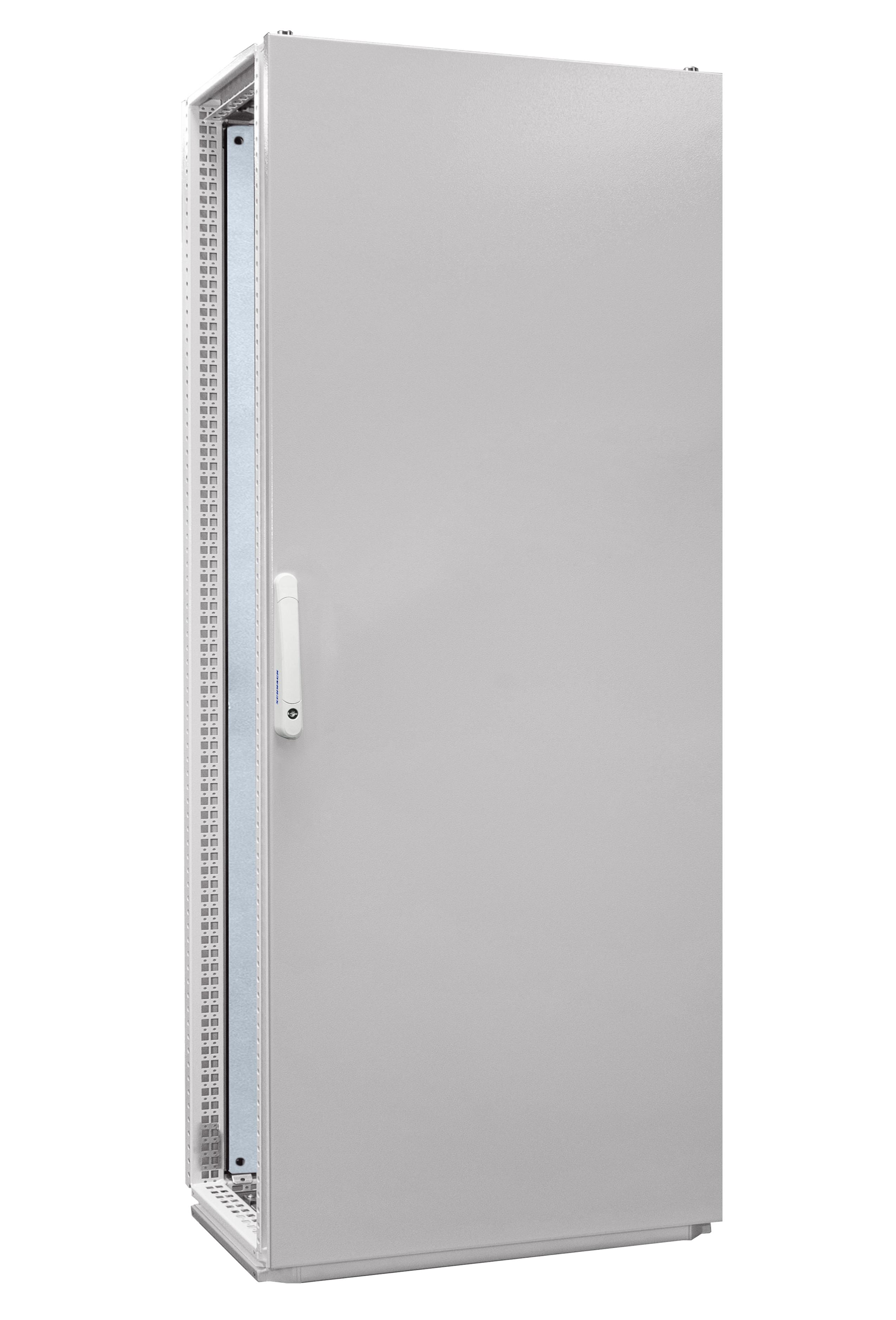 1 Stk Anreihschrank 1-Tür IP55 H=2000 B=800 T=500mm Stahlblech AC208050--