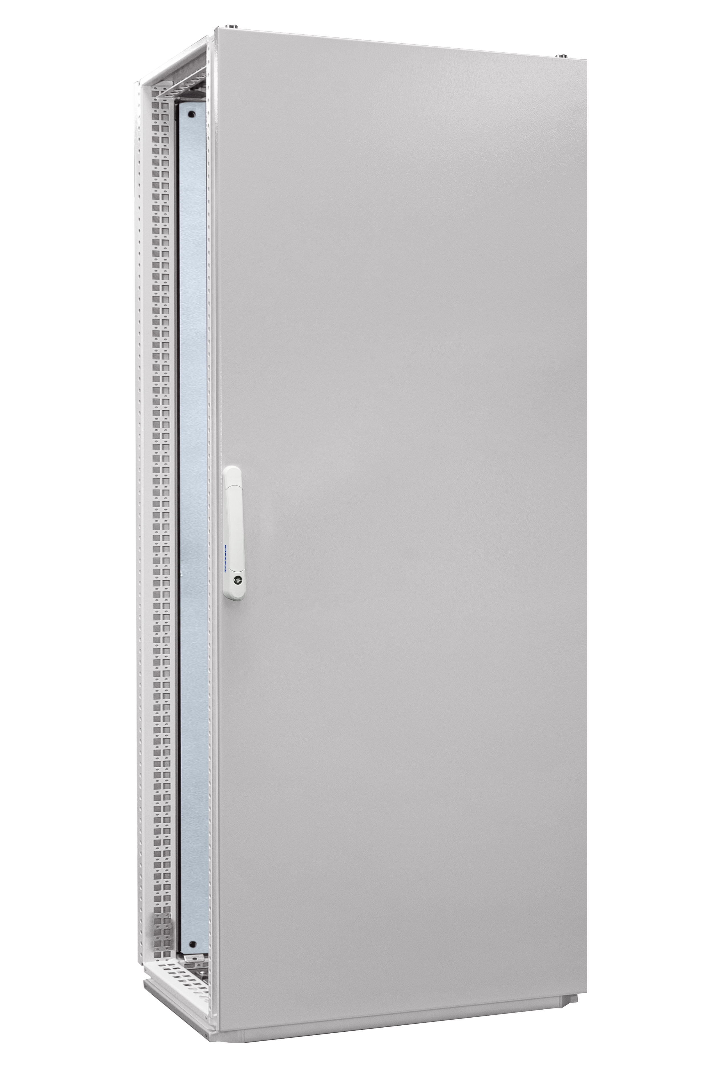 1 Stk Anreihschrank 1-Tür IP55 H=2000 B=800 T=600mm Stahlblech AC208060--