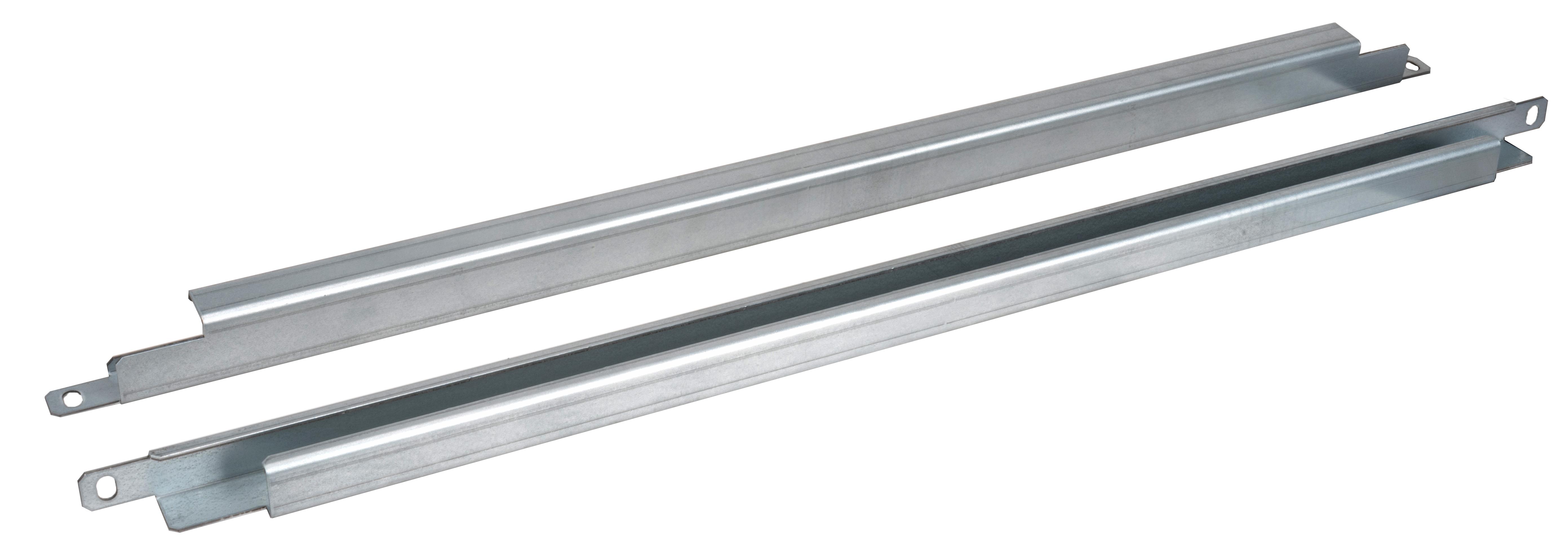 1 VE Kabelabfangschienen Sockelmontage für 600mm breite Schränke ACCAP600--