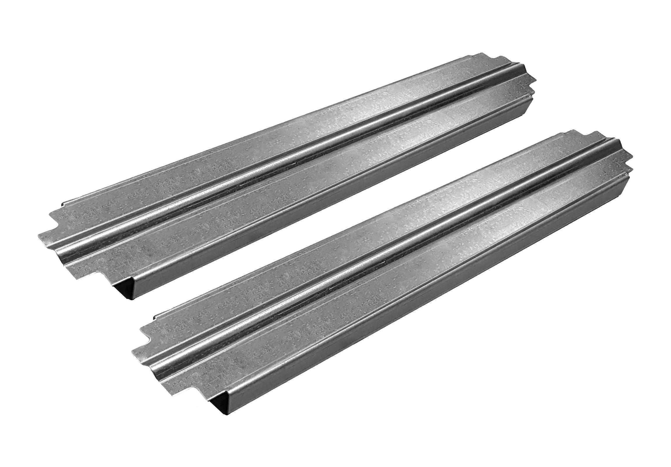 1 VE Gleitschienen für Montageplatten in 500mm tiefen Schränken ACCLT500--