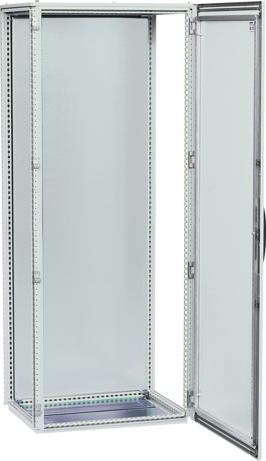 1 Stk Anreihschrank 1-türig, 2000x600x400mm, RAL 7035 AS206041-5