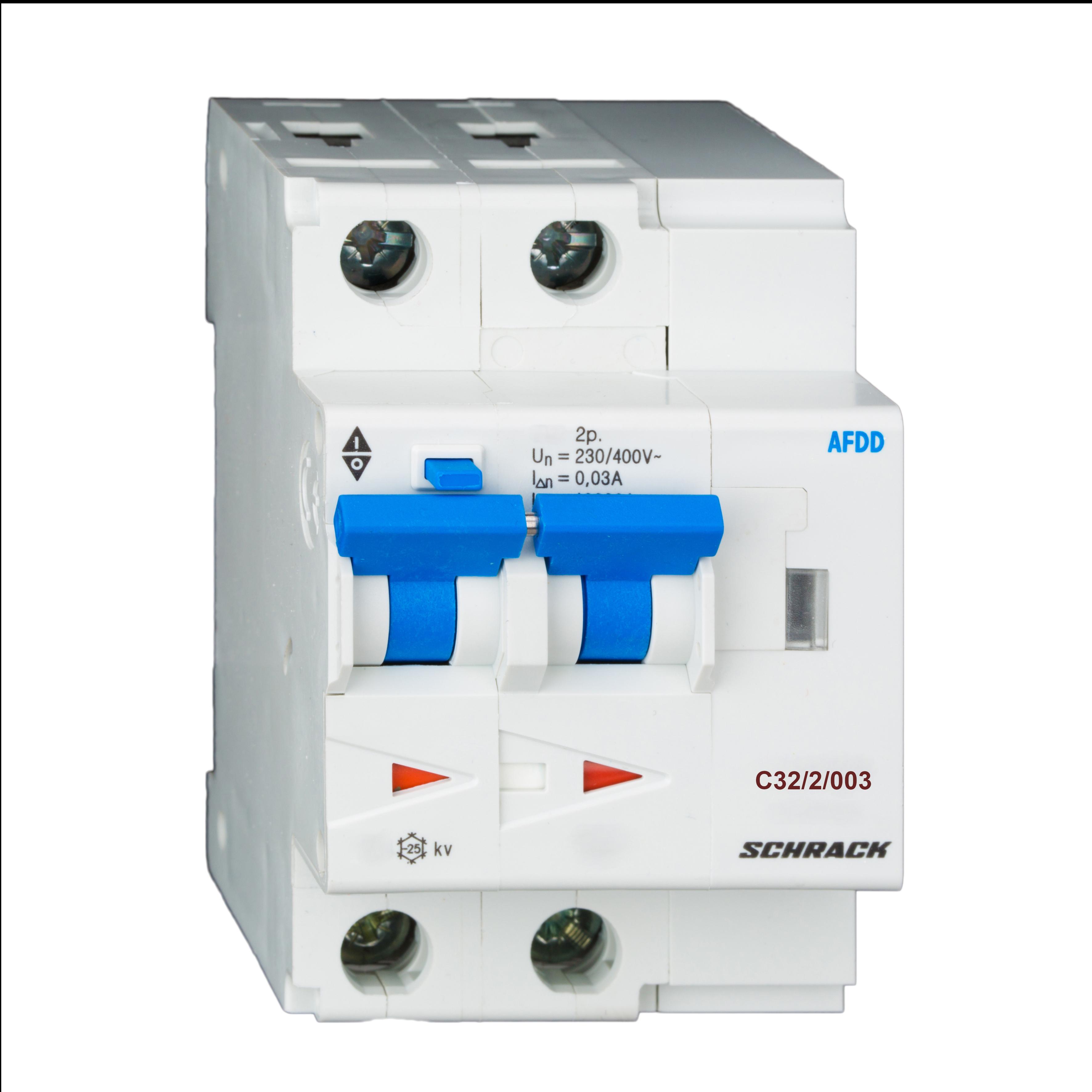1 Stk AFDD, Serie Lisa, C 32 A, 2-polig, 30 mA, Typ AC, 6 kA BA667932--