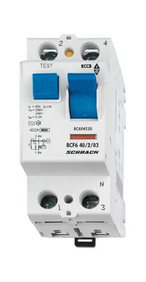 1 Stk FI-Schalter 25 A, 2-polig, 300mA, Typ AC BC002230--