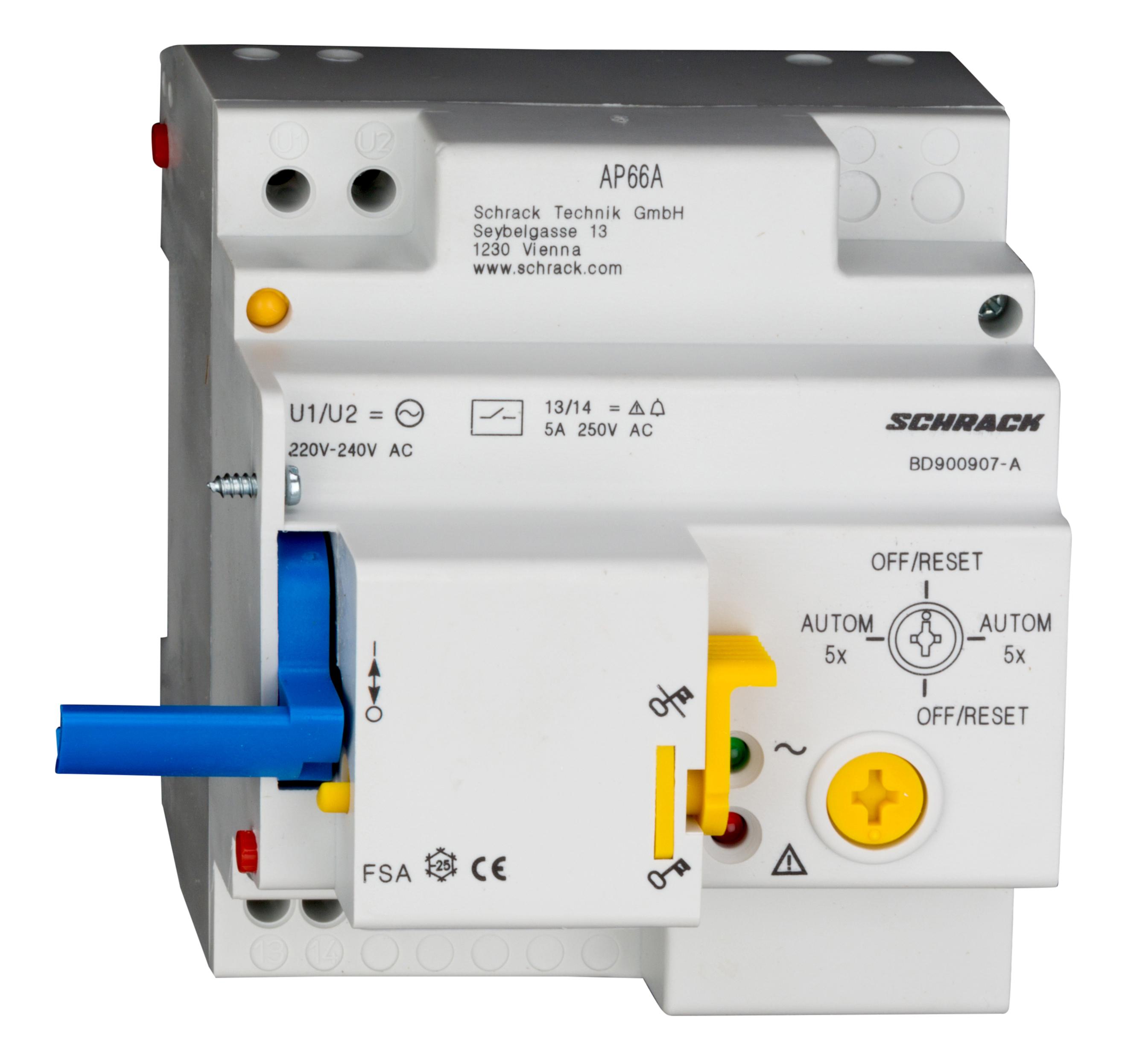 1 Stk Fernschaltautomatik 230VAC, Type FSA BD900907-A