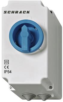 1 Stk Gehäuse IP54+N für Motorschutzschalter BE4 BE400002--