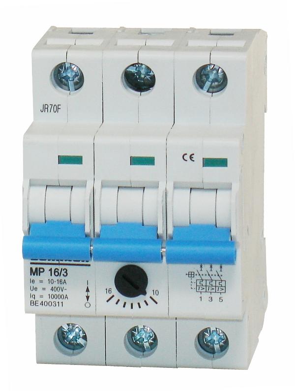 1 Stk Motorschutzschalter 10,0-16,0A, 3-polig BE400311--