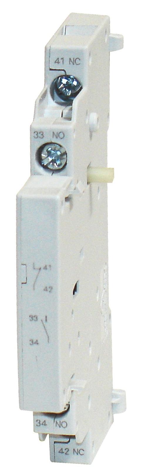1 Stk Hilfsschalter seitlich montierbar, 1 Schließer + 1 Öffner BEZ00001--