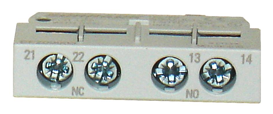 1 Stk Hilfsschalter querliegend montierbar, 2 Schließer BEZ00004--