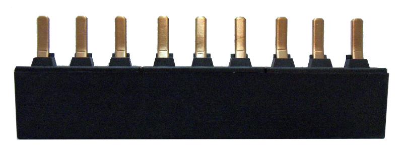 1 Stk Verschienung für 3 Motorschutzschalter BES, 2 BEZ00218--