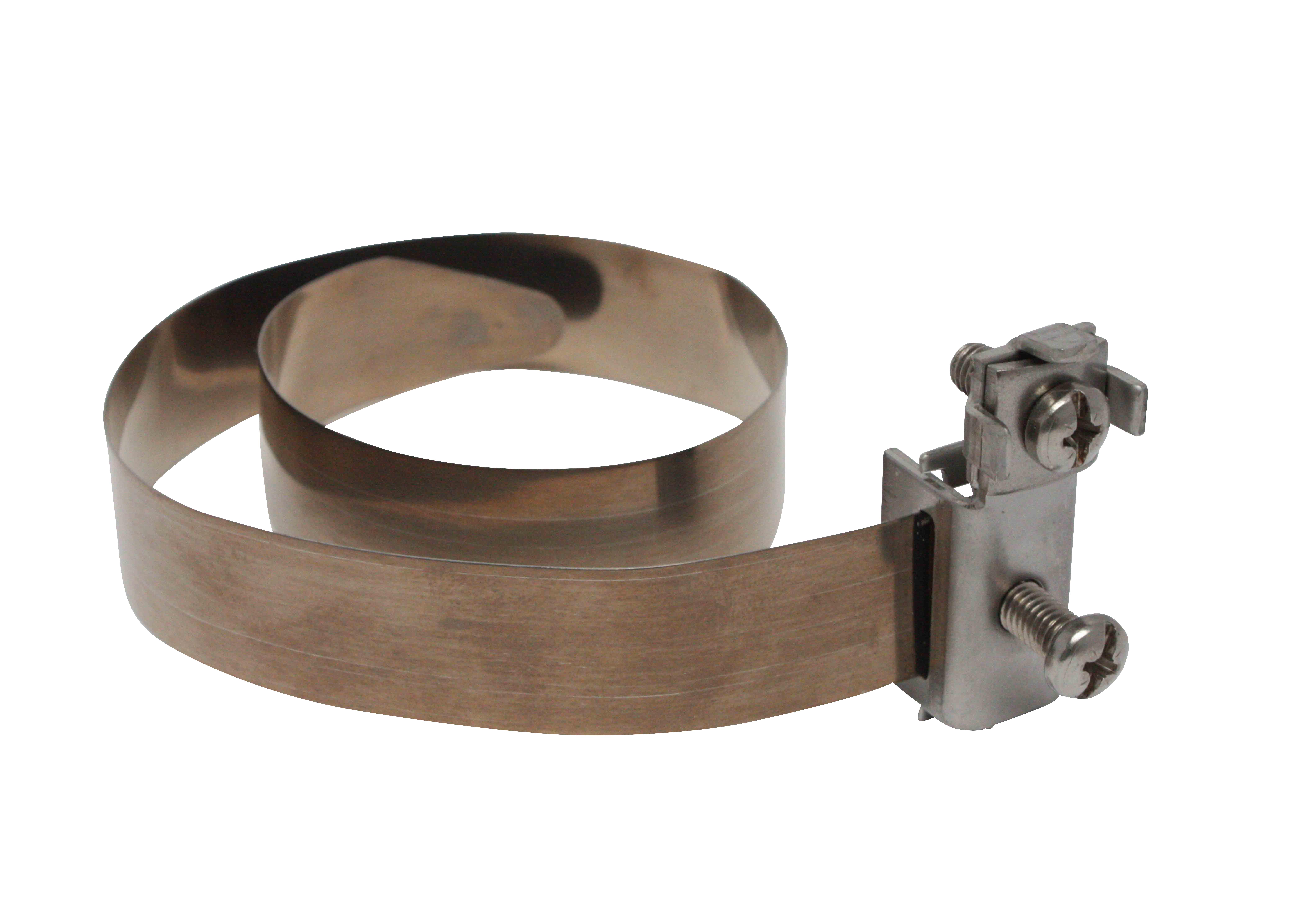1 Stk Erdungsbandschelle V2A Rohre Ø 8-114mm Anschluss: 2,5-16mm² BG2020425-