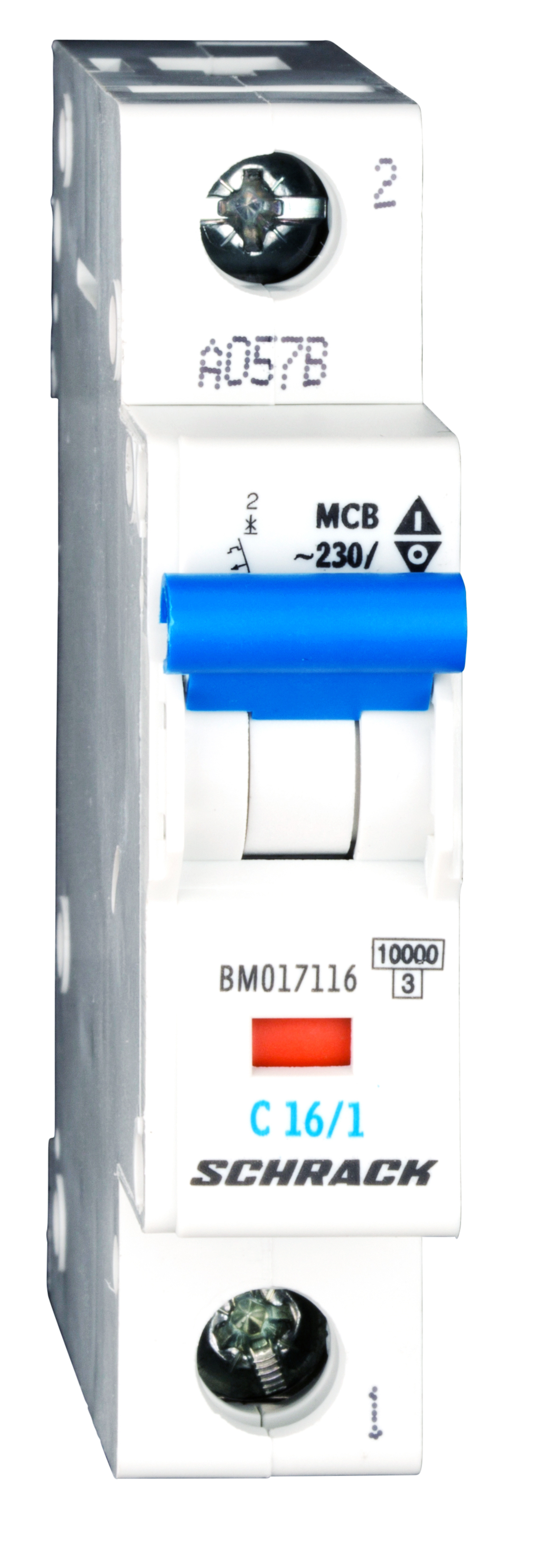 1 Stk Sicherungsautomat, Kennlinie C, 16A, 1-polig, 10kA BM017116--