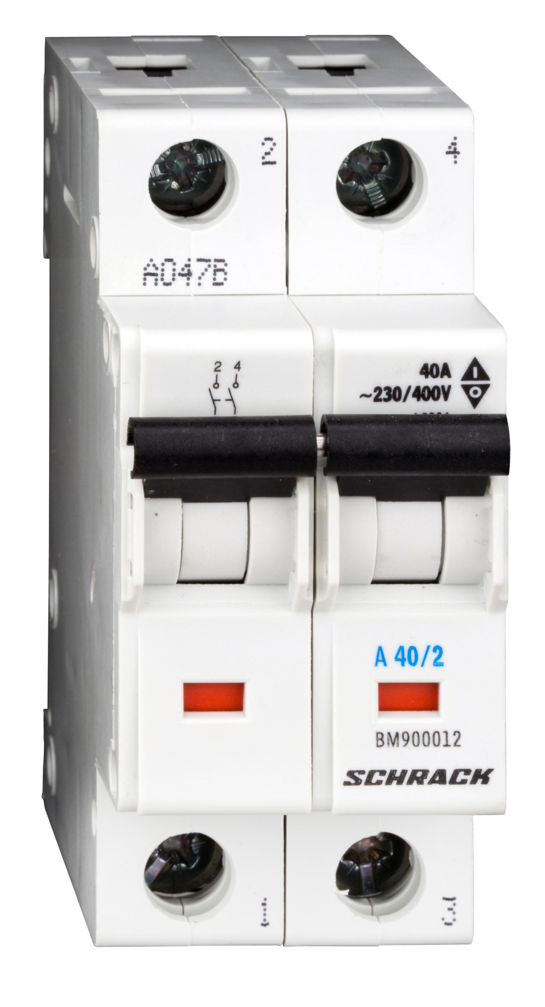 1 Stk Ausschalter, 2-polig, 40A BM900012--
