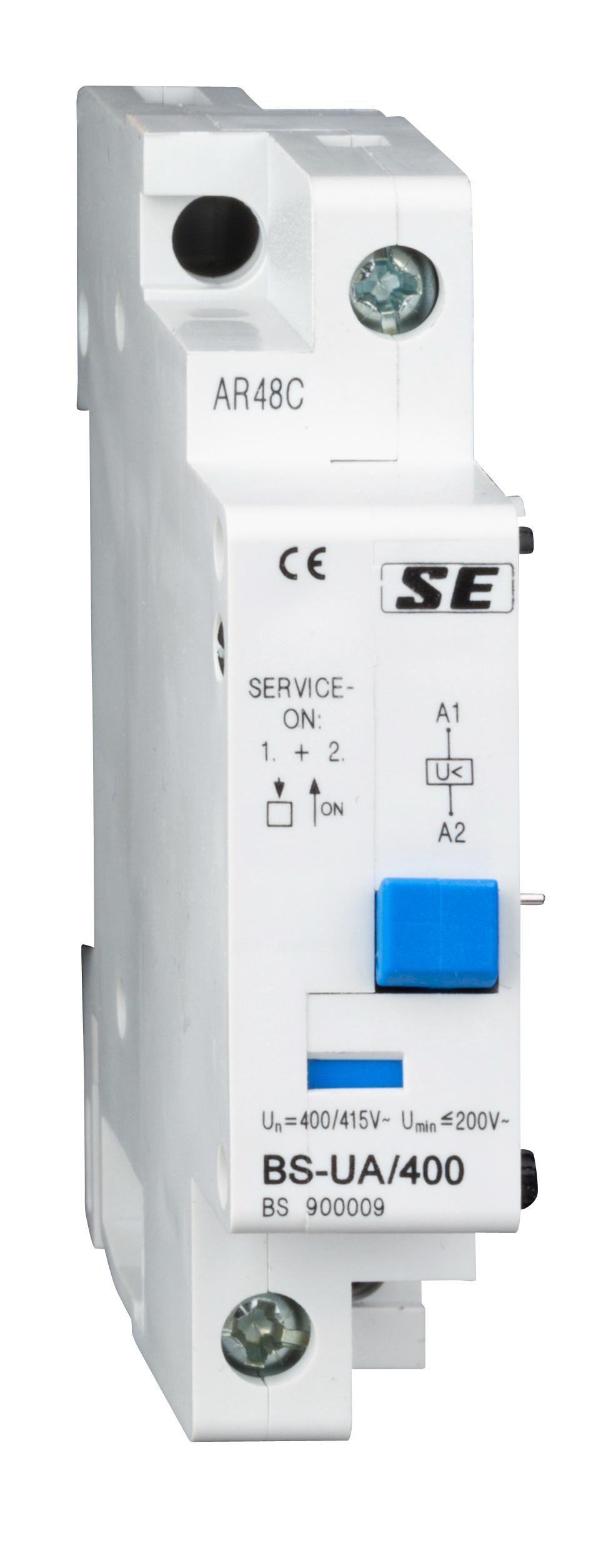 1 Stk Unterspannungsauslöser BS-UA unverzögert, 400V AC BS900009--