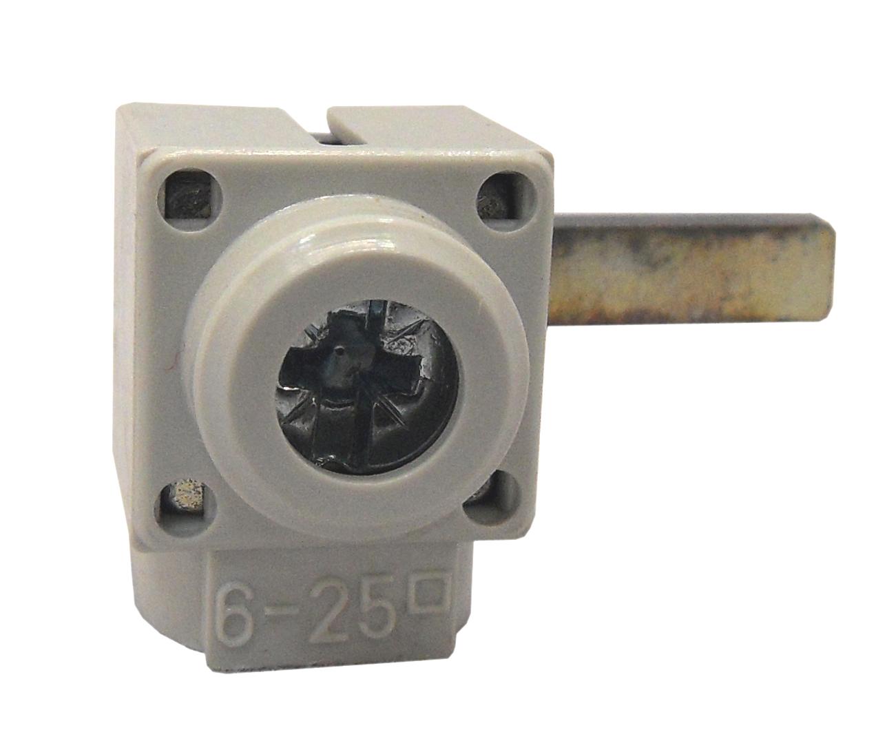1 Stk Anschlußklemme, Stift, quer, 6-25mm², kurz BS900173--