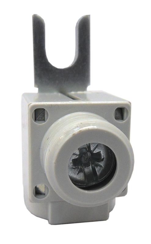 1 Stk Anschlußklemme, Gabel, gerade, 6-50mm², kurz BS900174--