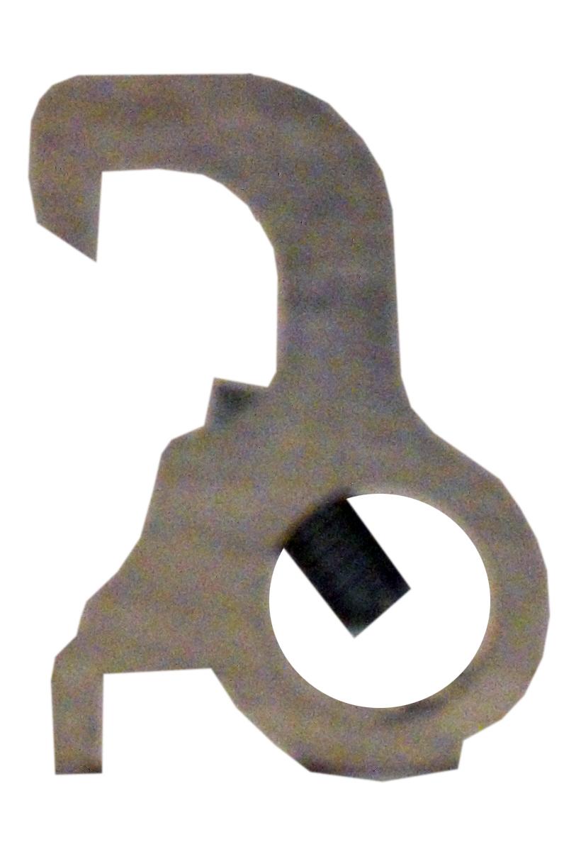 1 Stk Sperre für Schlossbügel für Reiheneinbaugeräte mit Knebel BS900285--