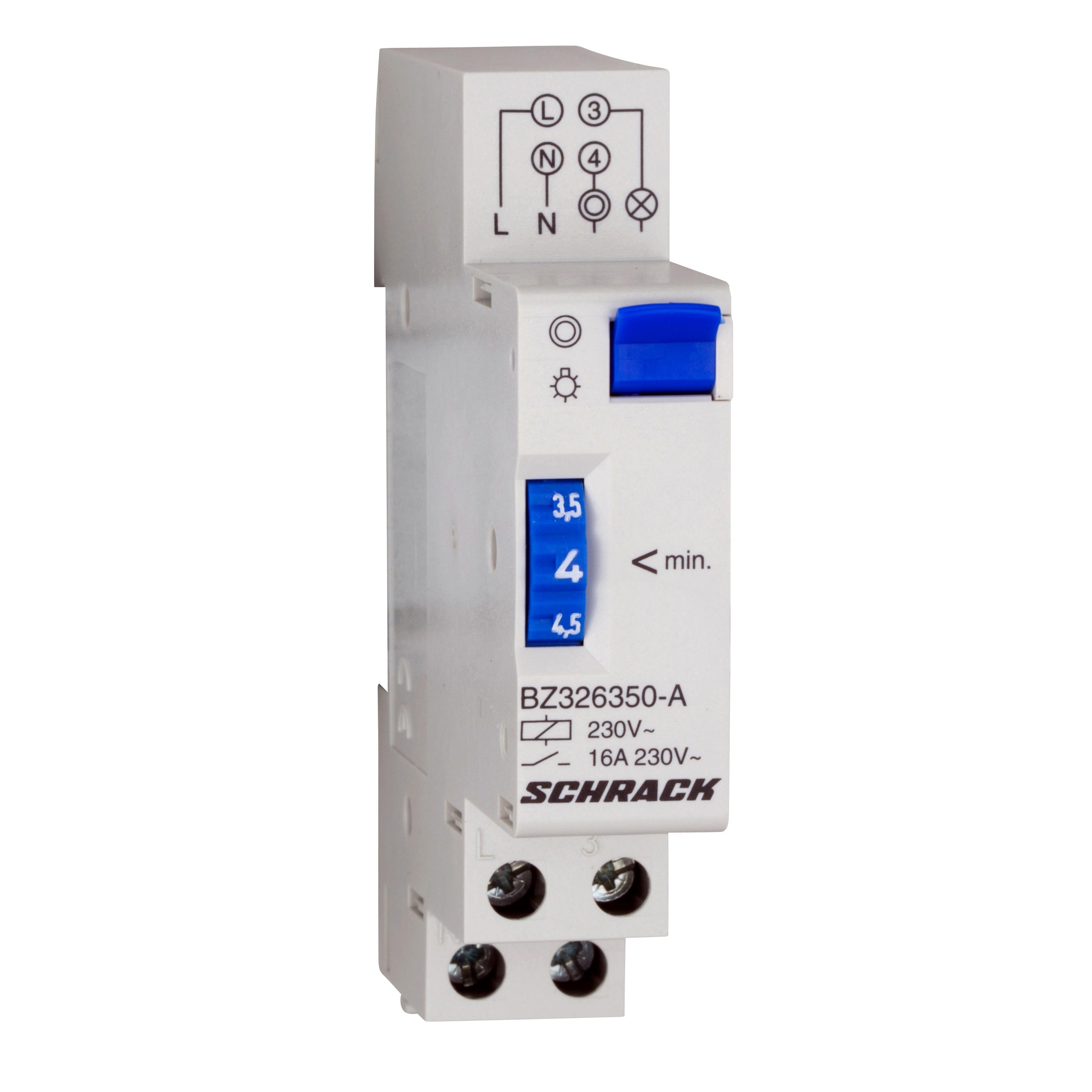 1 Stk Treppenlichtautomat, mechanisch, 1-7min BZ326350-A