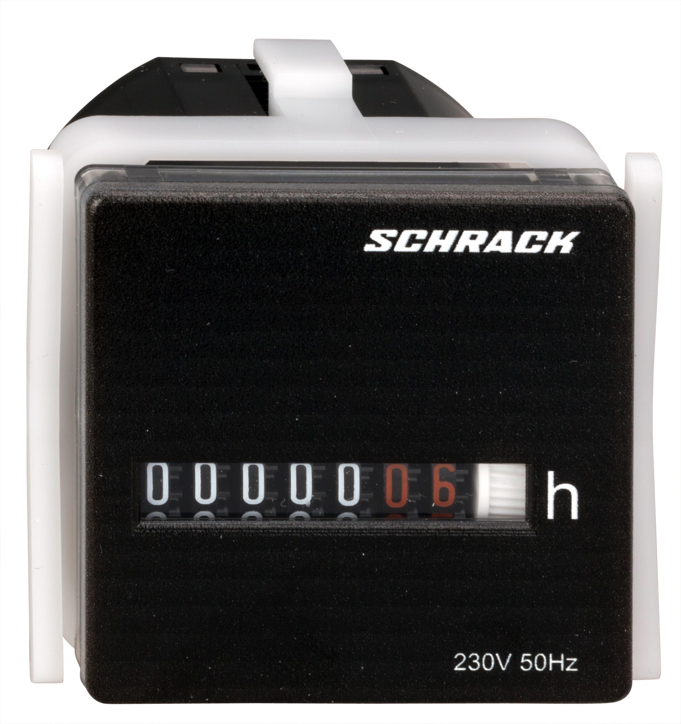 1 Stk Betriebsstundenzähler 48 x 48 IP 20, 230VAC 50Hz BZ326413-A