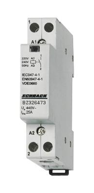 1 Stk Installationsschütz 25A, 1S, 230VAC 1TE BZ326473--