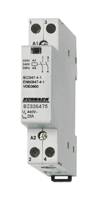 1 Stk Installationsschütz 25A, 2S, 230VAC 1TE BZ326475--