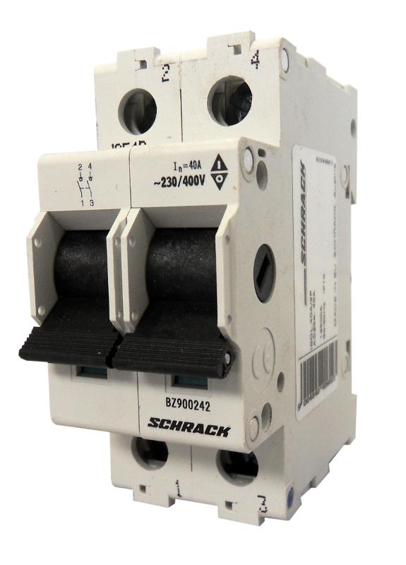 1 Stk Hauptlasttrennschalter, isoliert, 100A, 2-polig BZ900202--