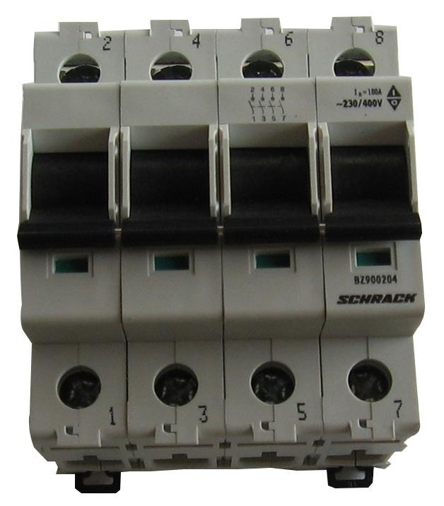 1 Stk Hauptlasttrennschalter, isoliert, 63A, 4-polig BZ900264--