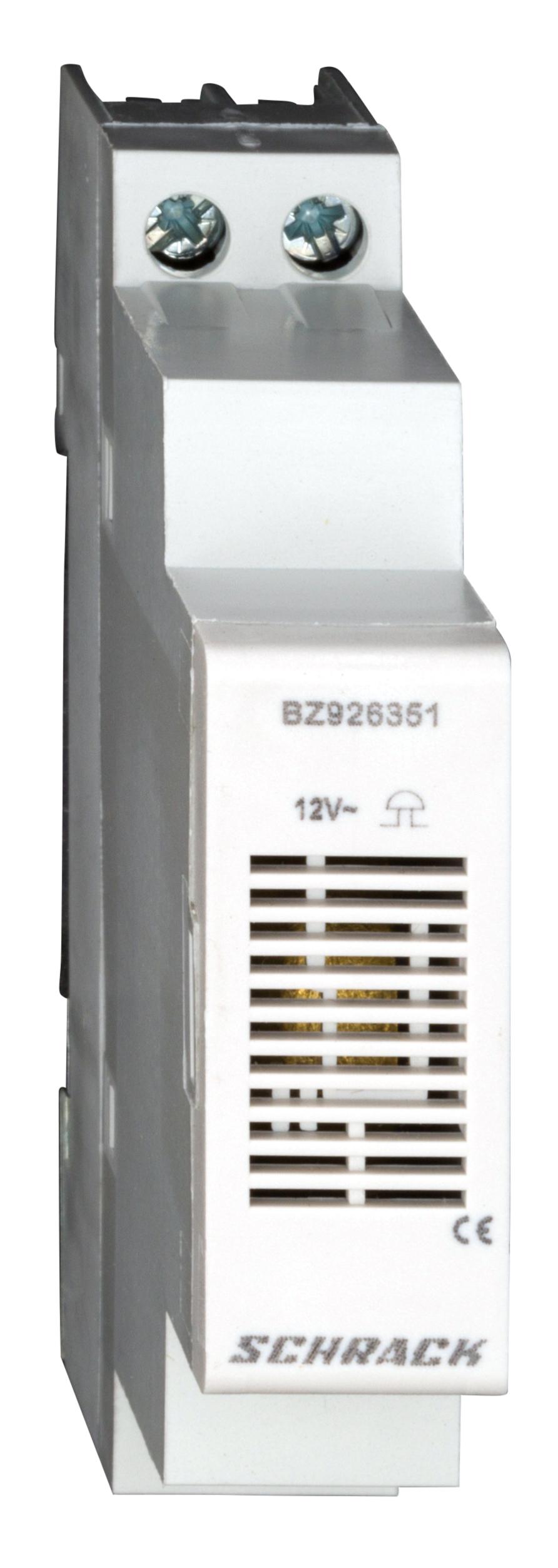 1 Stk Reiheneinbau Klingel 1TE 12V BZ926351--