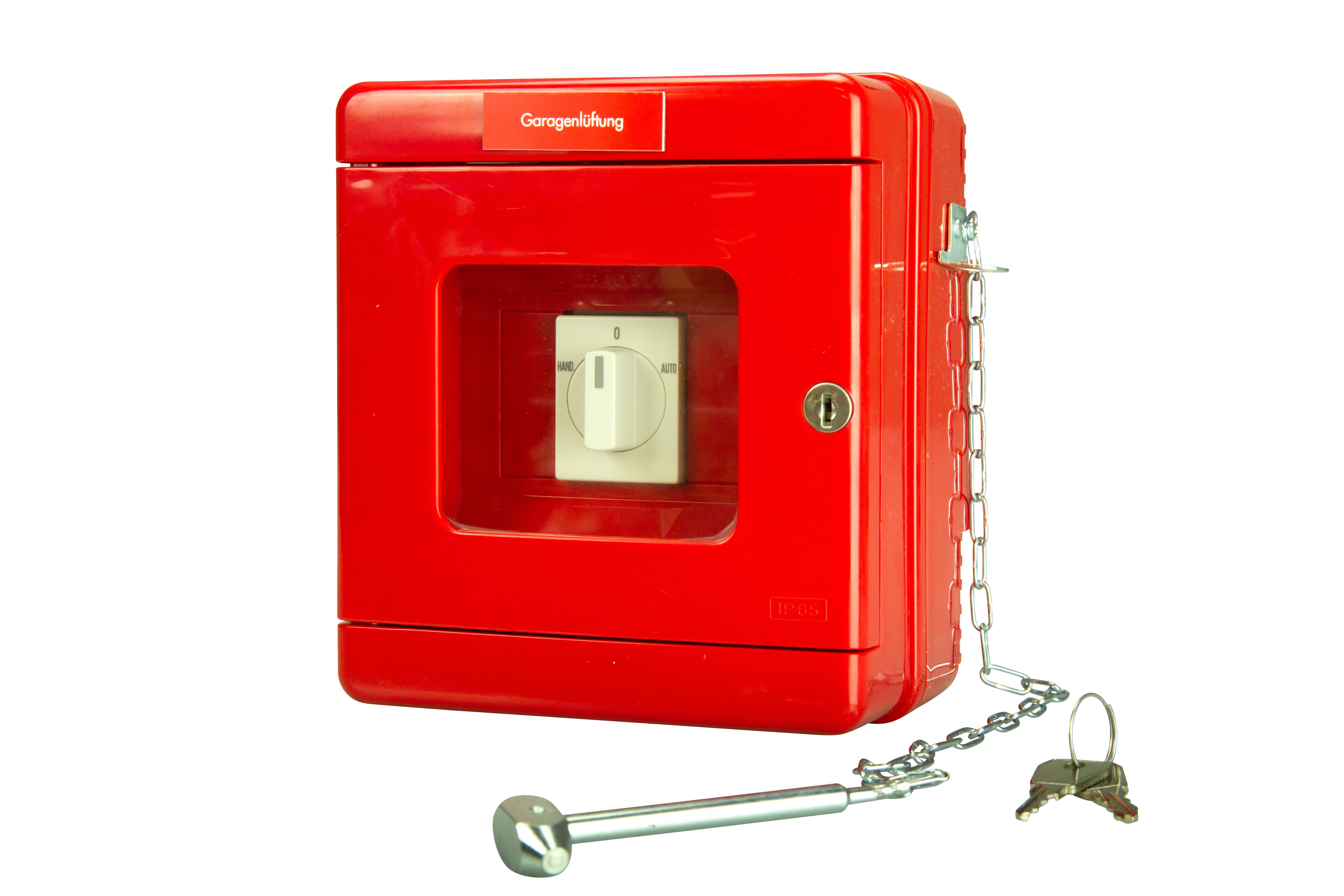 1 Stk Feuerwehrschalter (Garagenlüftungsschalter 0-Auto-1) COFWS-----