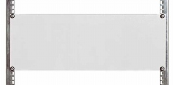 1 Stk Blindplatte Stahl, 19, 2HE, RAL7035 DBO14802--