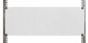 1 Stk Blindplatte Stahl, 19, 3HE, RAL7035 DBO14803--