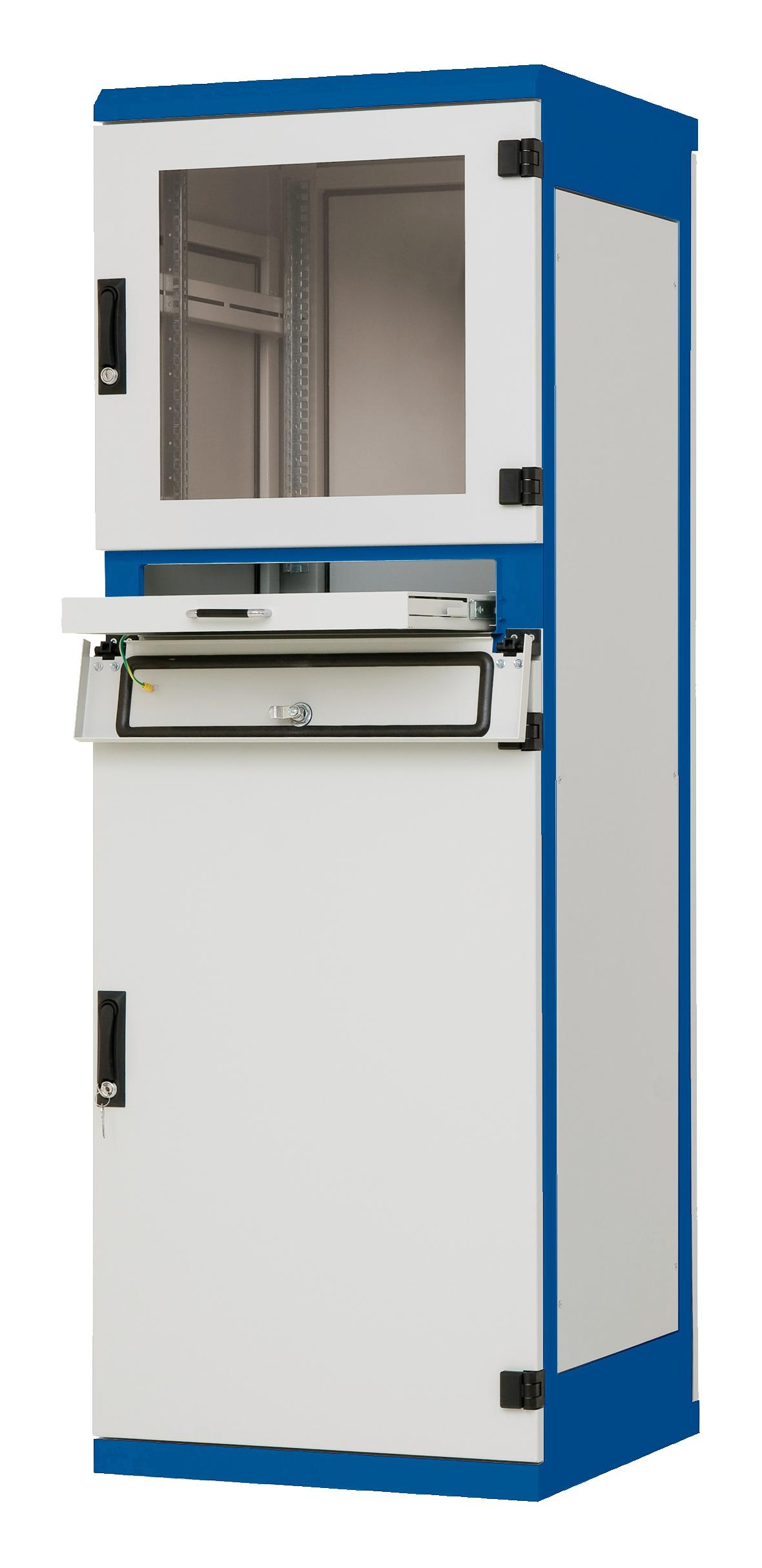 1 Stk Industrie-Steuerungsschrank B600xH1750xT600, 19, 37HE, IP54 DSP376065-